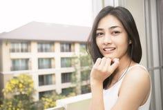 Portrait of beautiful asian girl royalty free stock photos