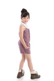 Portrait of beautiful asian girl standing Stock Photo