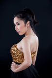 Portrait of beautiful Asian girl Royalty Free Stock Photography