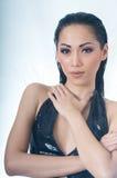 Portrait of beautiful Asian woman Stock Photography