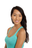 Portrait of beautiful Asian Woman Royalty Free Stock Image