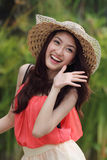 Portrait beautiful Asian woman Royalty Free Stock Images