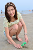 Portrait Beautiful asian woman Stock Photo