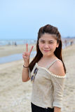 Portrait Beautiful asian woman Stock Photography