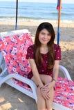 Portrait Beautiful asian woman Stock Image