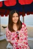 Portrait Beautiful asian woman Stock Photos