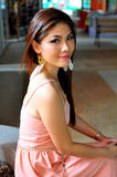 Portrait Beautiful asian woman Royalty Free Stock Image