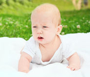 Portrait of beautiful baby Stock Photography