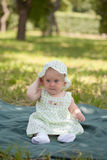 Portrait of beautiful baby Royalty Free Stock Images