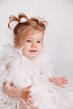 Portrait of a beautiful baby Royalty Free Stock Image