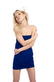 Portrait of beautiful blond girl Royalty Free Stock Images