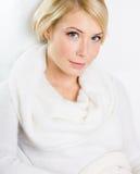 Portrait of beautiful blond woman Royalty Free Stock Photo