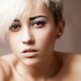 Portrait of beautiful blond woman Royalty Free Stock Photo