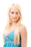 Portrait of a beautiful blonde Stock Photo
