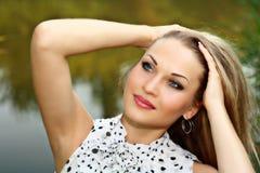 Portrait beautiful blonde Royalty Free Stock Photo
