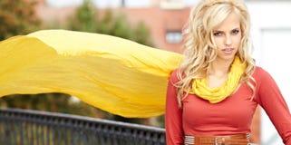 Portrait Of Beautiful Blonde Royalty Free Stock Image