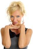 Portrait of a beautiful blonde Stock Photos