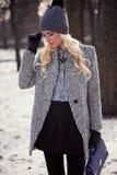 Portrait of beautiful blonde girl Stock Photo