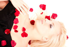 Portrait of beautiful blonde woman Royalty Free Stock Photo