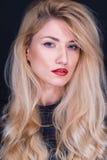 Portrait of beautiful blonde Royalty Free Stock Photo