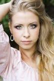 Portrait of beautiful blonde woman Royalty Free Stock Photo