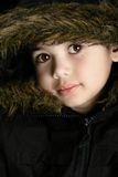 Portrait of a beautiful boy Stock Images