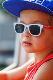Portrait of a beautiful boy Royalty Free Stock Images