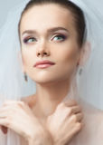 Portrait of a beautiful bride Stock Photo