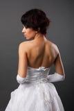 Portrait of a beautiful bride Stock Images