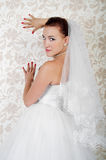 Portrait of beautiful bride Stock Photo