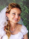 Portrait of beautiful bride Royalty Free Stock Images