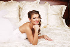 Portrait beautiful bride Royalty Free Stock Photography