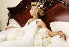 Portrait beautiful bride Stock Photo