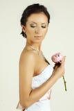 Portrait of a beautiful bride Stock Image