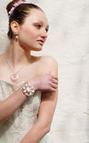 Portrait of a beautiful Bride to be Royalty Free Stock Photography