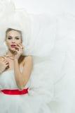 Portrait of beautiful bride Royalty Free Stock Photo
