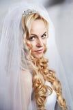 Portrait beautiful bride royalty free stock photography