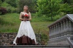 Portrait of beautiful bride Royalty Free Stock Image