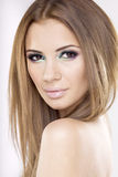 Portrait beautiful brunette Royalty Free Stock Image