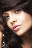 Portrait of beautiful brunette Royalty Free Stock Photography