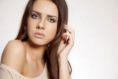 Portrait beautiful brunette Stock Photography