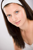 Portrait of beautiful brunette woman Royalty Free Stock Photo