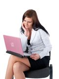 Portrait of beautiful business lady Royalty Free Stock Photos