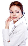 Portrait of a beautiful business woman Royalty Free Stock Photos
