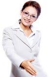 Portrait of a beautiful business woman Stock Photo