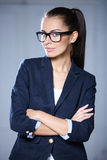 Portrait of beautiful business woman Royalty Free Stock Images