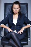 Portrait of beautiful business woman Royalty Free Stock Photos