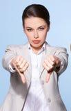 Portrait of beautiful business woman Stock Photo