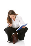 Portrait of beautiful business woman Stock Image