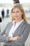 Portrait of beautiful businesswoman Stock Photography